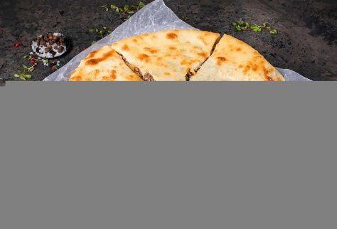 Осетинский пирог с говядиной и фасолью