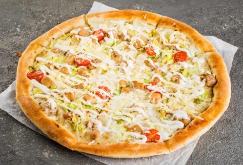 Пицца Цезарь на традиционном тесте