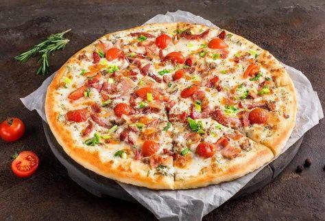 Пицца Суприм на тонком тесте
