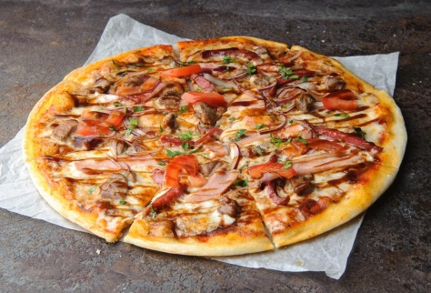 Slim-пицца Шашлычная
