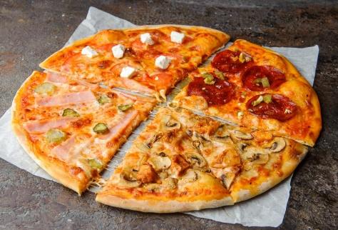 Slim-пицца Четыре туза