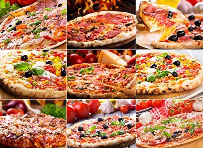 Выбор пиццы в Санкт-Петербурге