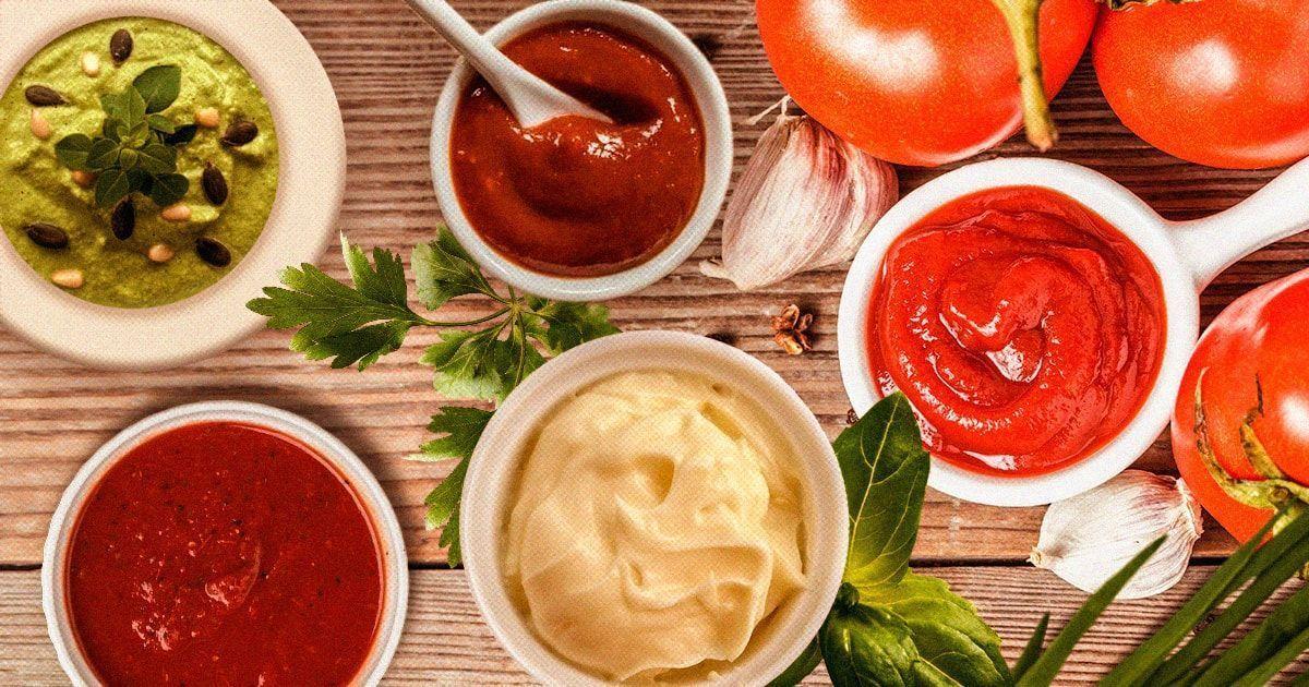 Основные разновидности соусов