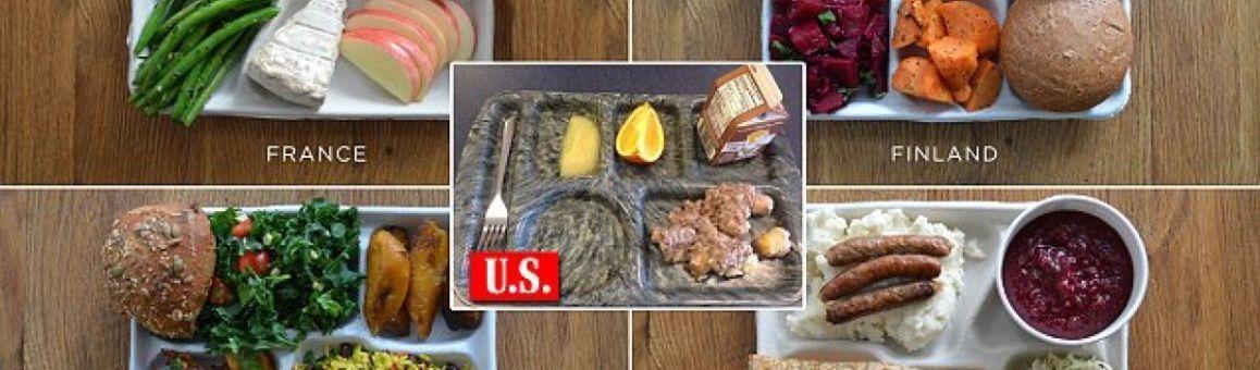 Что едят на обед в разных странах мира
